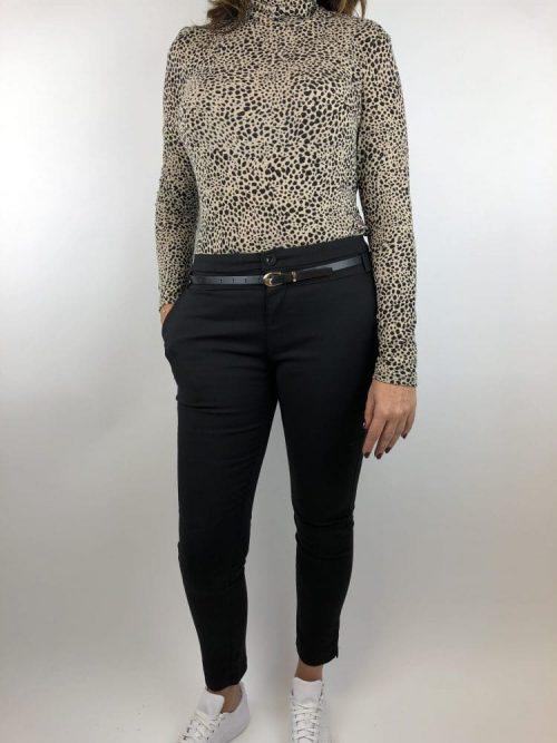 Chino Megan Chicetjeune zwart - Broek Label-L