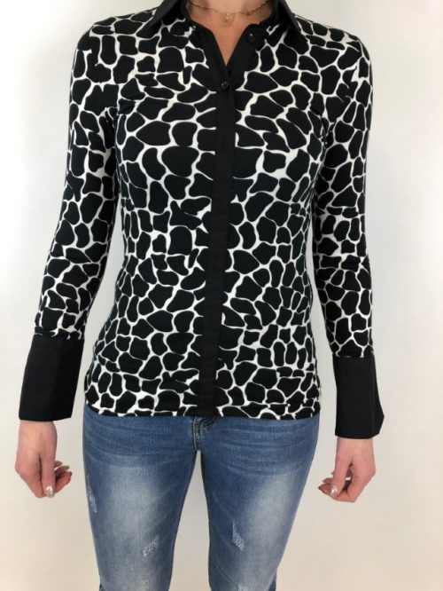 Blouse Giraf Rebelz-blouses Label-L