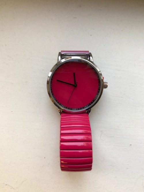 Horloge Pink Ernest-sieraden Label-L