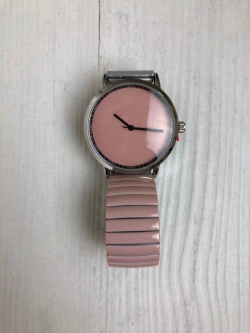 Horloge zacht roze Ernest-sieraden Label-L