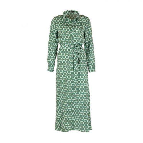 Maxi jurk Jessy groen RBLZ-Jurken Label-L